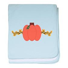 Autumn Pumpkin baby blanket