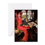 Lady & Cavalier (BT) Greeting Cards (Pk of 10)