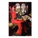Lady & Cavalier (BT) Postcards (Package of 8)