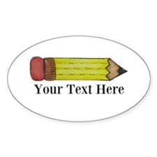 Personalizable Pencil Decal