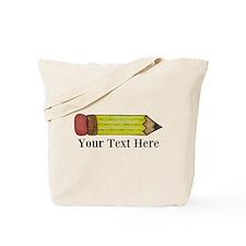 Personalizable Pencil Tote Bag