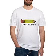 Personalizable Pencil T-Shirt