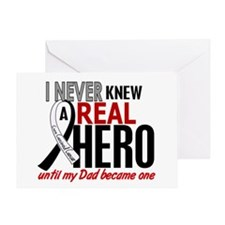 Carcinoid Cancer Real Hero 2 Greeting Card
