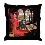 Lady & Cavalier (BT) Throw Pillow