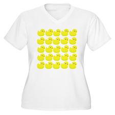 Rubber Ducks Plus Size T-Shirt