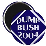 Blue Dump Bush 2004 Magnet (100 pack)