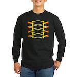 Triangle Glyph 04 H Long Sleeve Dark T-Shirt