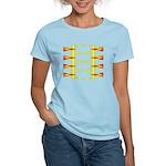Triangle Glyph 04 H Women's Light T-Shirt