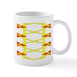 Triangle Glyph 04 H Mug