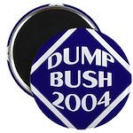 Blue Dump Bush 2004 Magnet