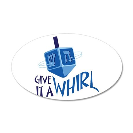 GIVE IT A WHIRL Wall Decal