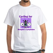 Cycling for Hodgkin's Shirt