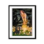 Fairies & Cavalier (BT) Framed Panel Print