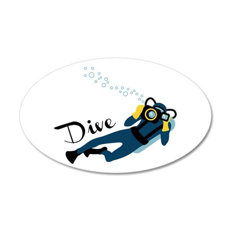 DIVE Wall Decal
