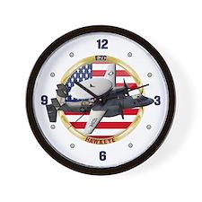 E-2C Hawkeye Wall Clock