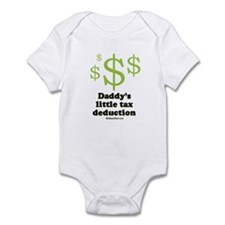 Daddy's little tax deduction / Baby Humor Infant B