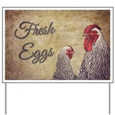 Fresh Eggs Yard Sign