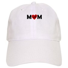 Swimming Heart Mom Baseball Baseball Cap