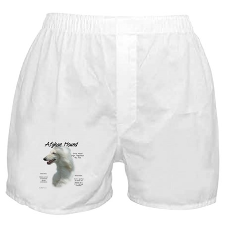 Afghan (white) Boxer Shorts