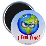 "I Feel Fine! 2.25"" Magnet (100 pack)"