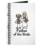 Cartoon Bride's Father Journal