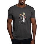 Cartoon Bride's Father Dark T-Shirt