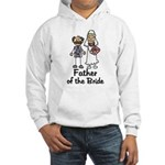 Cartoon Bride's Father Hooded Sweatshirt