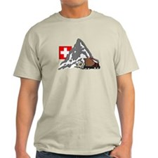 Alpine Hike Natural Colored T-Shirt