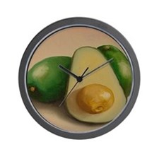 Avocado - Wall Clock