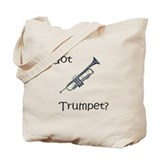 Got trumpet/Brass Tote Bag