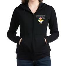 Thyroid Cancer Survivor Chick Zip Hoodie