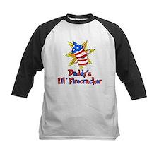 Daddys Little Firecracker Baseball Jersey