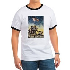Iwo Jima Flag Raising T-Shirt