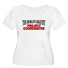 """The World's Greatest Project Coordinator"" T-Shirt"