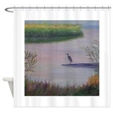 LAKE IN LATE SEPTEMBER Shower Curtain