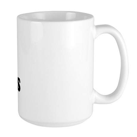 I Love [Heart] Latinos Large Mug