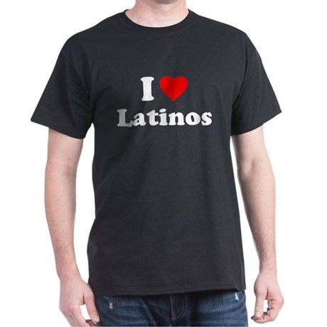 I Love [Heart] Latinos T-Shirt