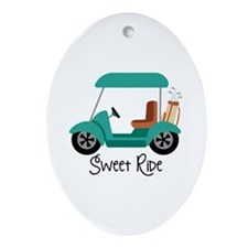 Sweet RiDe Ornament (Oval)