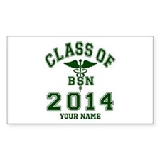 Class Of 2014 BSN Decal