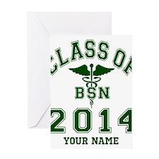 Class Of 2014 BSN Greeting Card