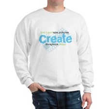 Create - Green Sweatshirt