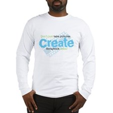 Create - Green Long Sleeve T-Shirt