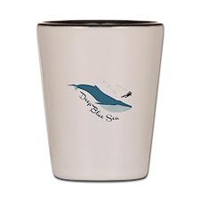 Deep Blue Sea Shot Glass