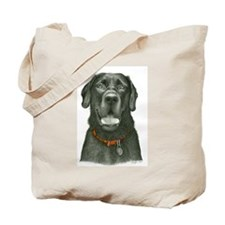 Unique Black labrador retriever Tote Bag