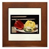 Cool Golden delicious Framed Tile