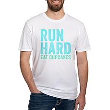 Run Hard Eat Cupcakes Shirt