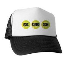 Eat Sleep Play Tennis Trucker Hat
