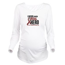 Multiple Myeloma Rea Long Sleeve Maternity T-Shirt