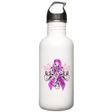 I Wear Pink for Hope Water Bottle