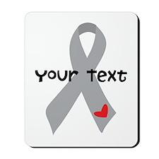 Diabetes Personalized Ribbon Mousepad